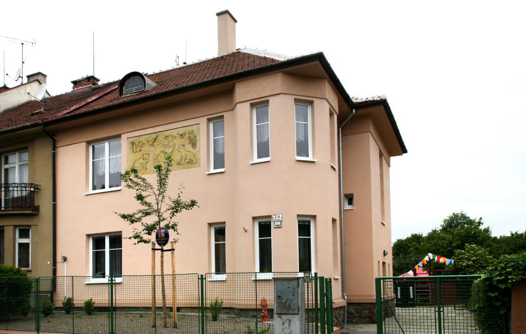 Mateřská školka Vackova 70 - budova